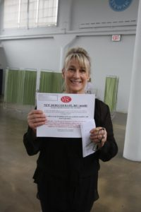 NYSC offered reduced rate memberships.  Patsy Pollack, EVP Merchandising was thrilled to have saved some money.