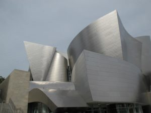 Designed by Frank Gehry, it is one of the most acoustically sophisticated concert halls in the world.