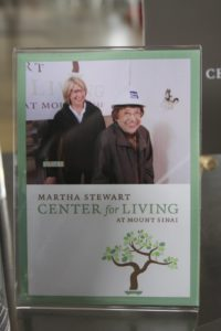That's a photo of me and my mom at the groundbreaking ceremony of the center, which I dedicated to her.