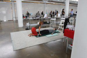 NIcole Smith, a practitioner of Nuad Boran Thai Massage, demonstrating her skills - http://www.redheadtrainer.com/