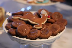 These ginger snaps were made by editor, Ellen Morrissey, and they were scarfed up immediately!