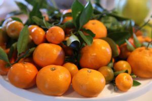 These mandarins and kumquats are from my own greenhouse.