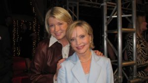 Here I am with Florence Henderson, a former contestant.