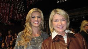 Erin Andrews - ESPN sportscaster and me