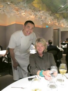 After our fabulous dinner, we had the chance to meet Chef Jaan par André.  He is an amazing talent!