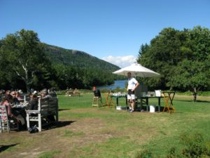 The Jordan Pond House is the only full-service restaurant located within Acadia National Park.