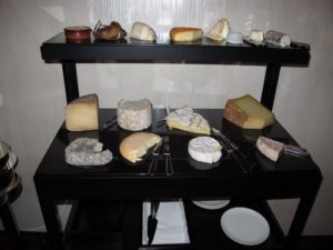 A stellar cheese cart