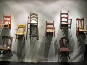 A beautiful collection of children's chairs