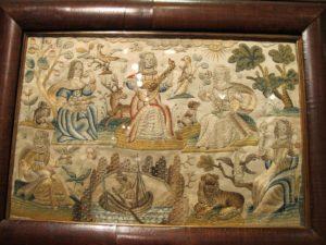 Gorgeous silk embroidery