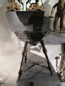 An unusual stool