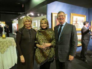 With Tina Hayward and Tom Savage