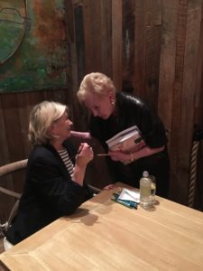 I always enjoy book signing events because I get to meet so many interesting people. Many of them share stories of how I've inspired them over the years.