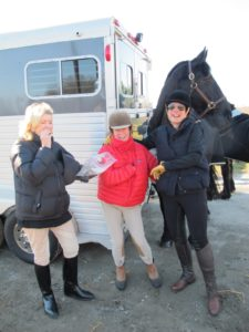 Here I am having a quick snack with Muffin and Jodi.