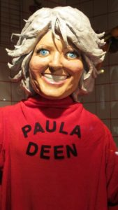 And who but Paula Deen