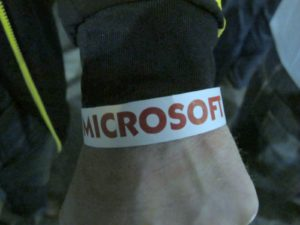 A wristband was required to get in and once the wristbands were gone, no one else was admitted.