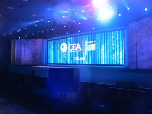 The Keynote and CES was produced by the Consumer Electronics Association - CEA.