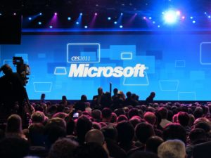 Microsoft was about to take center stage.