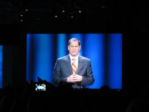 Gary Shapiro, President and CEO of the Consumer Electronics Association, gave the welcoming address.