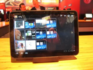 Android tablet from Motorola called the 'Xoom' at only 1.5 pounds!