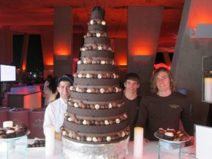 It was an amazing creation of David Funaro of Godiva Chocolatier.