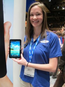 Libertie Bridges demoed - It offers an elegant 7-inch touch screen running on Android.