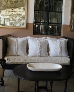 Rachel Horn designs and fabricates lovely metal furniture.  http://www.rachelhorn.com/