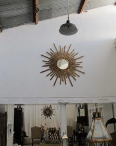 Sunburst mirrors and great lanterns