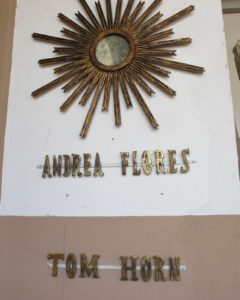 Andrea Flores and Tom Horn are two other artisan designers.