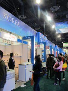 And the Korean aisle