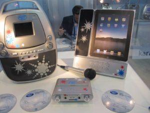 A Karaoke machine for the iPad