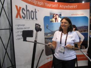 Have you ever been in a pinch and needed a good self portrait?  The xshot to the rescue!