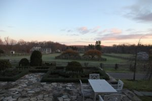 It was a beautiful morning at the farm - clear and not too cold - a perfect bulb planting day!