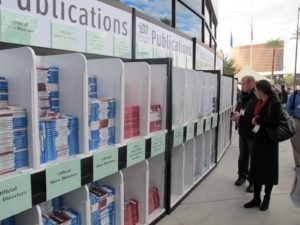 There were stacks of publications for the show.   An iPhone app was also available, if you wanted to attend paper-free!