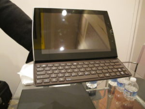 Asus always has something innovative and this year, it is the Asus Eee Pad slider.