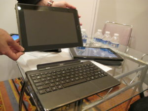 And this tablet has a completely removable keyboard.
