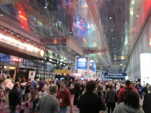 The following morning, CES was officially opened and was time to hit up the Central Hall.