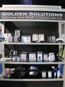 Golden Solutions from Innovative Technologies - Tech for the elderly, such as large button remote controls and telephones.