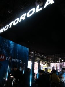 And then the Motorola area