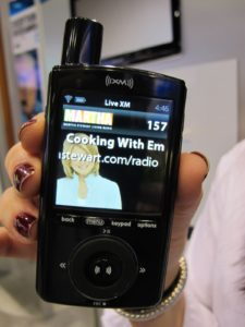 Sirius/XM has a great new little listening device - The Sirius XM XPMP3H1 Portable Satellite Radio and MP3 Player.