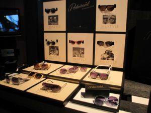 Polaroid unveiled a new line of fashion sunglasses based on retro designs.