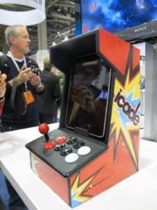 Want to play some old-school video games?  Icade to the rescue!  Just insert your iPad and have fun.