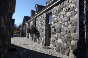 My stable complex - I just love the stonework of this place!