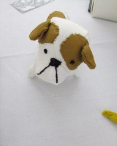 Sian Keegan's handmade animals. She also makes custom pet portraits. http://siankeegan.com/