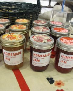 Lauren Richel Kelly made tasty jams.