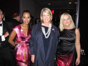 Here I am with Kerry Washington and honoree Amy Poehler - comedian and actress.