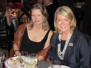 Sitting with honoree Jennifer Egan - Pulitzer Prize-winning author