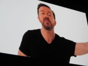 In 2010, Ricky Gervais was listed on the TIME 100 most influential people in the world.  This year, TIME asked Gervais on video what he thinks of the list and what he'd do as host of the annual gala.