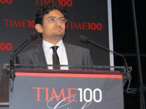 More opening remarks by honoree Wael Ghonim - an Egyptian internet activist and computer engineer