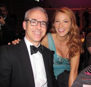 Jess Cagle - Entertainment Weekly Managing Editor and honoree Blake Lively