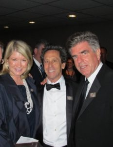 Here I am with Brian Grazer and Tom Freston
